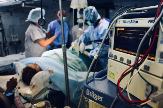 opération patient hopital